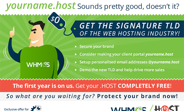 Reserve Your .HOST Domain Today